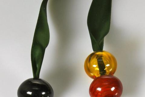 Colliers verre au chalumeau